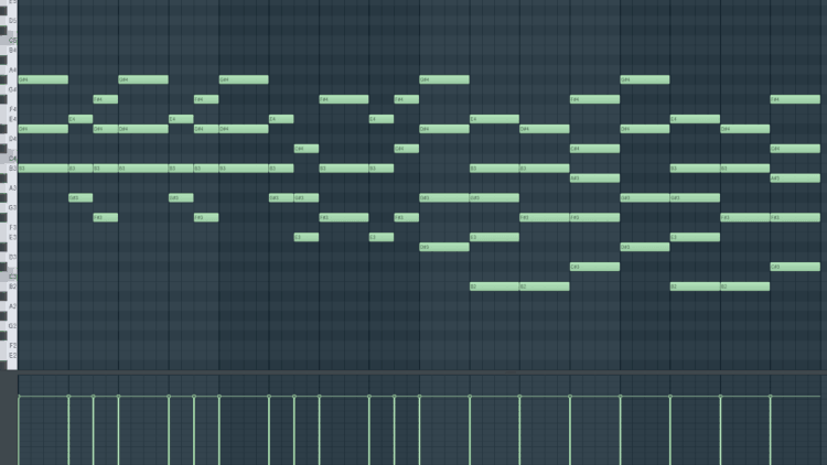 Soundalike Kygo - Piano Strophe