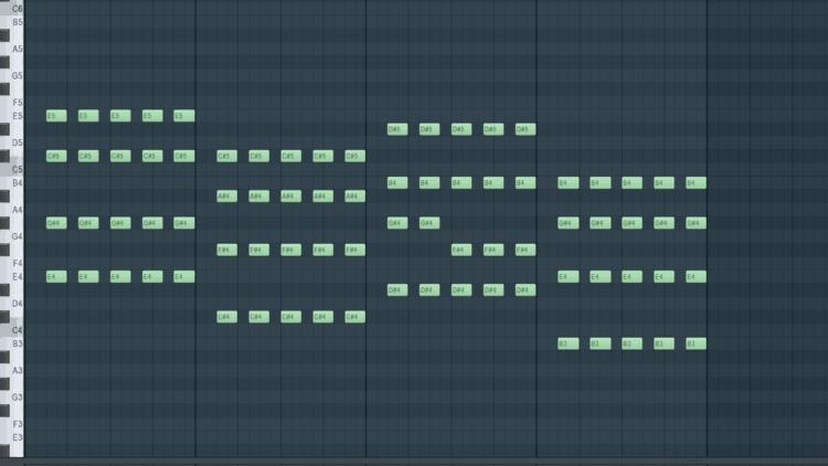 Soundalike Kygo - String Pattern Akkorde