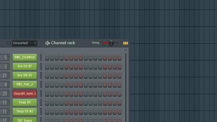 Soundalike Kygo - Channel Rack