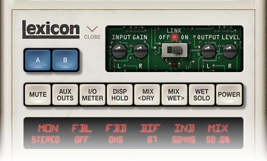 Input Gain & Output Gain - Universal Audio Lexicon 480L Test