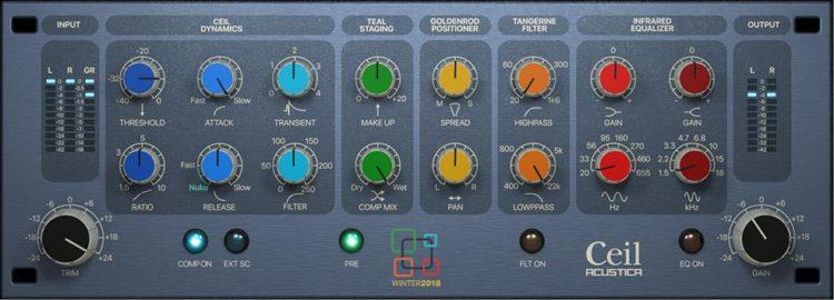 Graphische Oberfläche - Acustica Audio Ceil