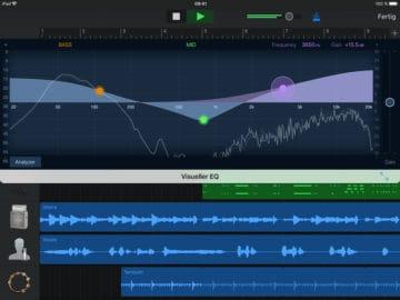 GarageBand - Apps zum Audio aufnehmen und mehr