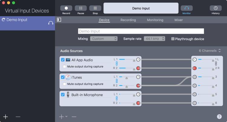 Sound Siphon - Audio aufnehmen, was ich höre in macOS