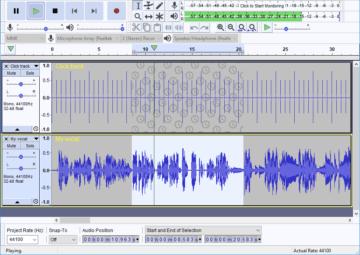 Audacity - Audio Programm zum Aufnehmen (kostenlos)