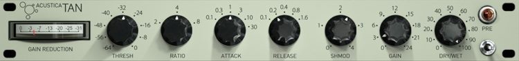 Acustica Audio TAN - VST Kompressor Plugins (gratis)