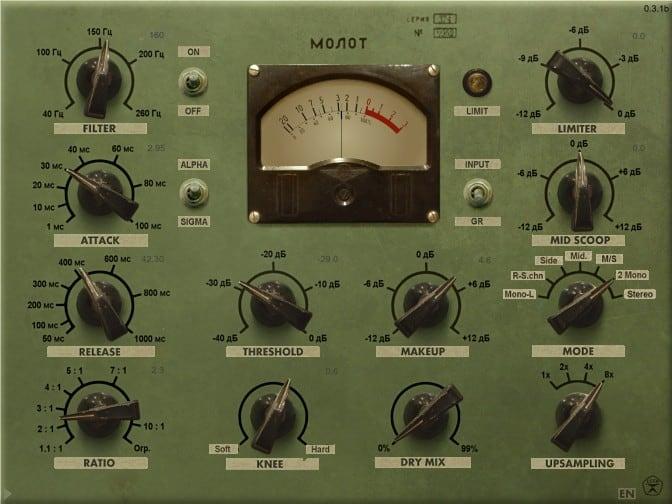 vladg/sound Molot - VST Kompressor Plugins (gratis)