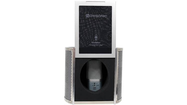 Mi Popschutz, geöffnet - Nowsonic Isolator Test