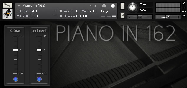 Ivy Audio Piano in 162 - Free Piano VST