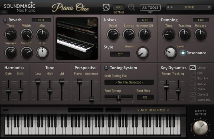 SoundMagic Piano One - Piano VST