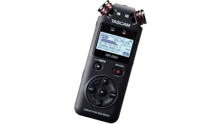 TASCAM DR-05X Test