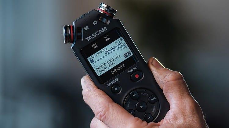 Handheld Recorder - TASCAM DR-05X Test