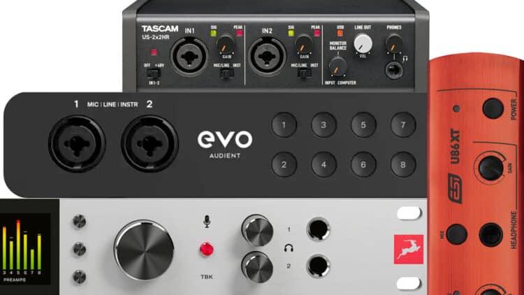 USB Audio Interface Vergleich - die besten Top-Modelle & Empfehlungen