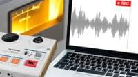 Audio aufnehmen Anleitung