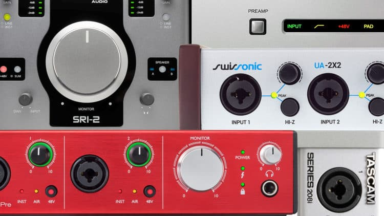 Audio Interface Ratgeber & Kaufberatung