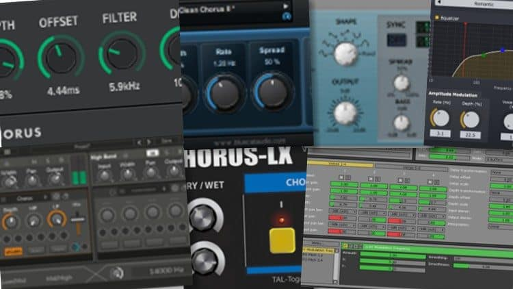 Free VST: Chorus-Effekte gratis - Top 7 Audio Plugins