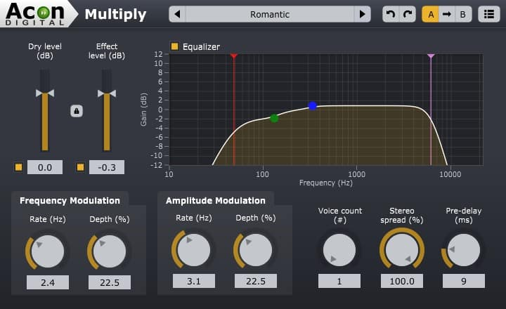 Acon Digital Multiply - Free VST: Chorus-Effekte