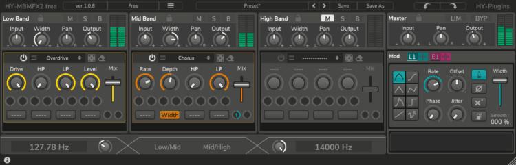 HY-Plugins HY-MBMFX2_free - Free VST: Chorus-Effekte