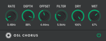 Oblivion Sound Lab OSL Chorus - Free VST: Chorus-Effekte