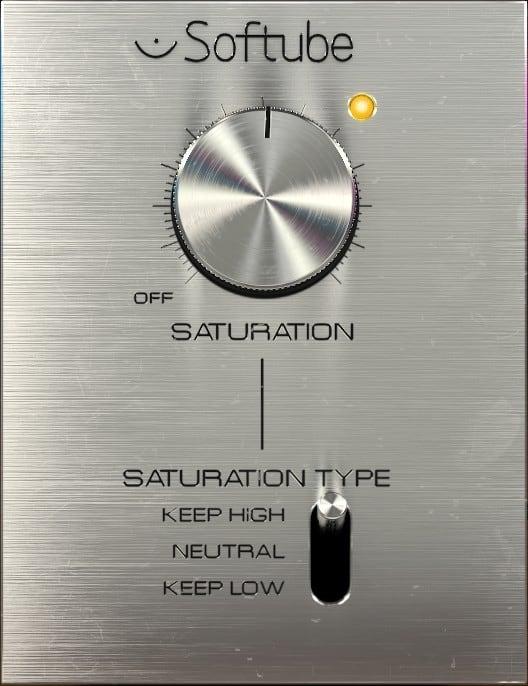 Softube Saturation Knob - Distortion Plugin kostenlos