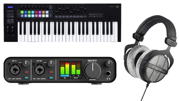 home studio setup musik produzieren