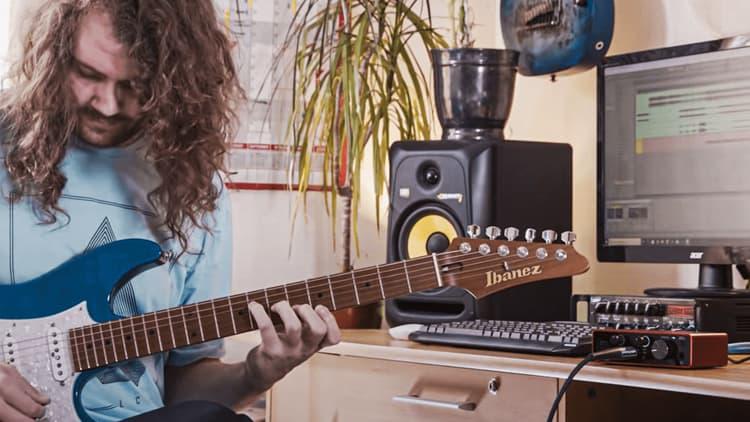 singer songwriter homestudio setup