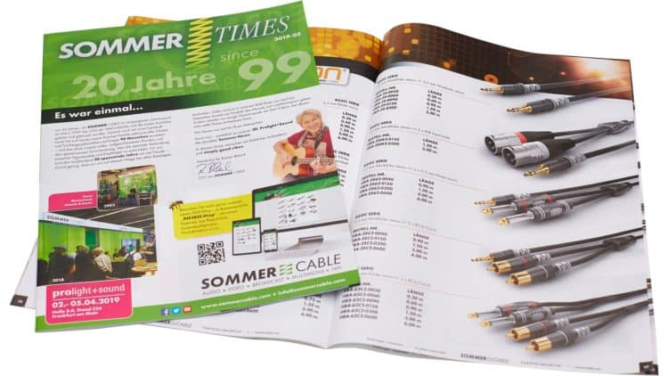 Sommer Cable wird 20