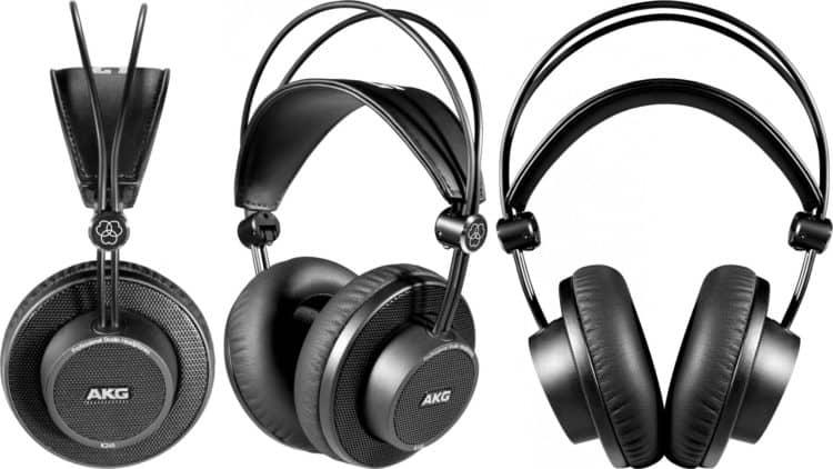 Kopfhörer-Perspektiven im AKG K245 Test