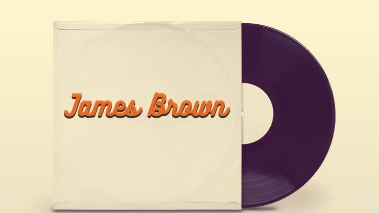 james brown porträt