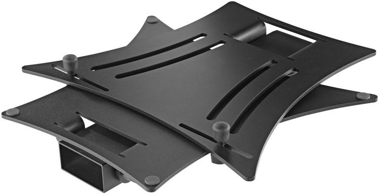 Eingeklappt: König & Meyer 12190 Laptop-Ständer