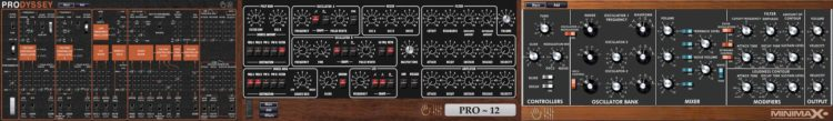 Synthesizer-Emulationen - MakeProAudio Dino Park