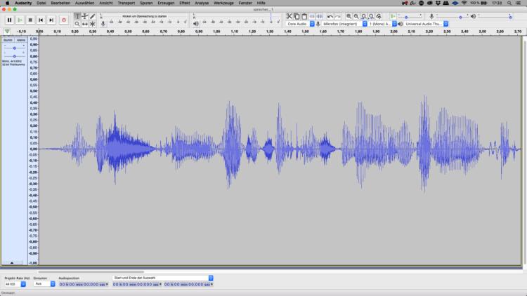 Podcast-Stimme verbessern mit Audacity