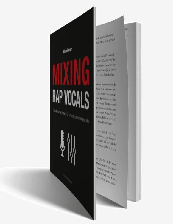 Rap Vocal Mixing Secrets Offenes Buch
