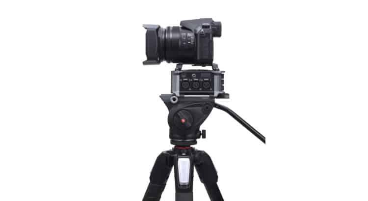 Zoom F6 im Einsatz mit DSLR