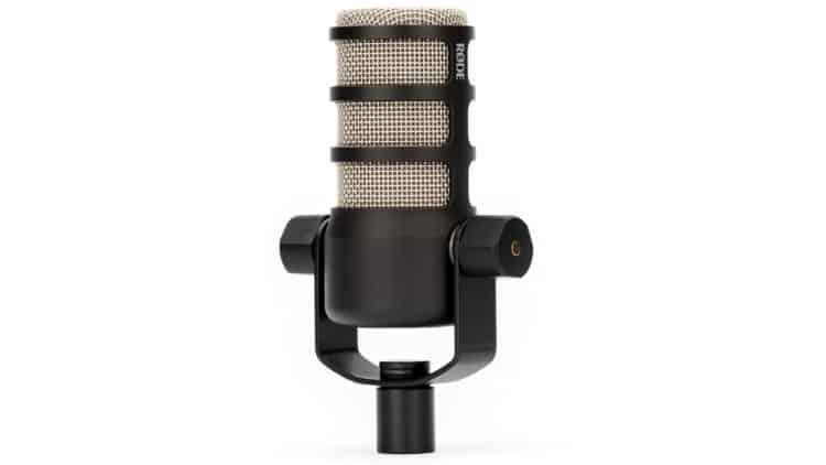 Rode PodMic Mikrofon Seite