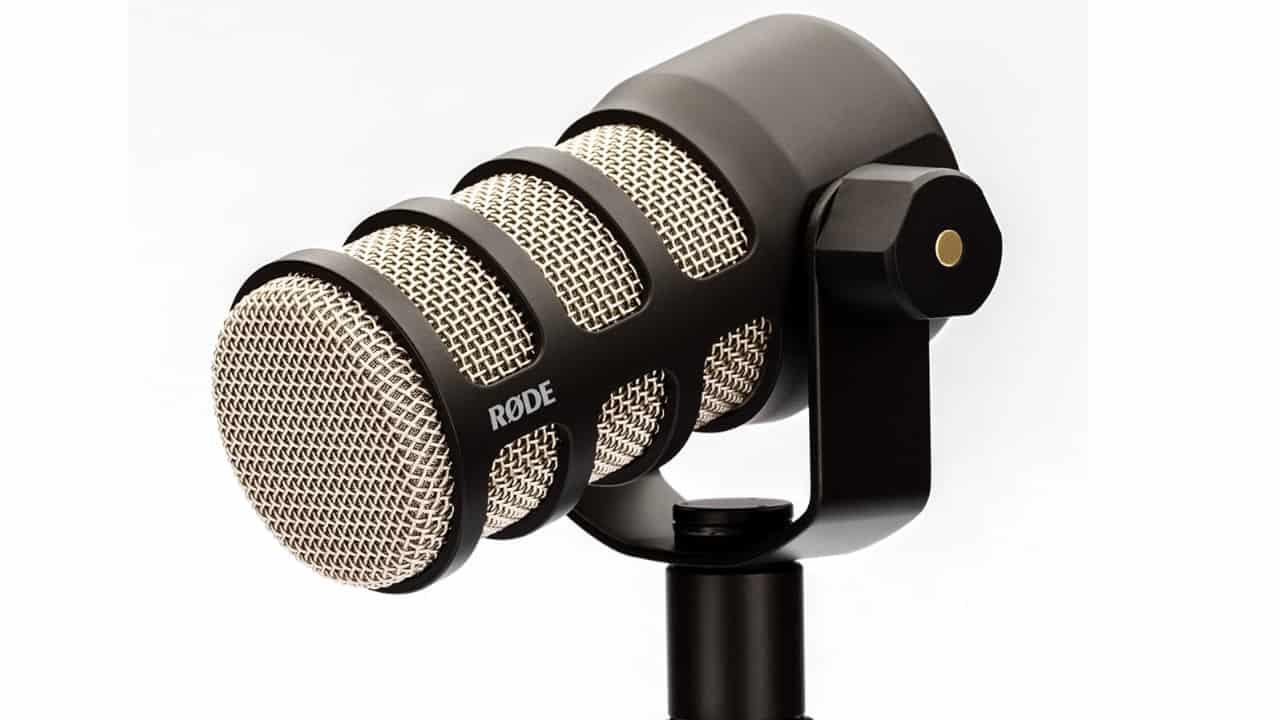 Rode PodMic Mikrofon Front