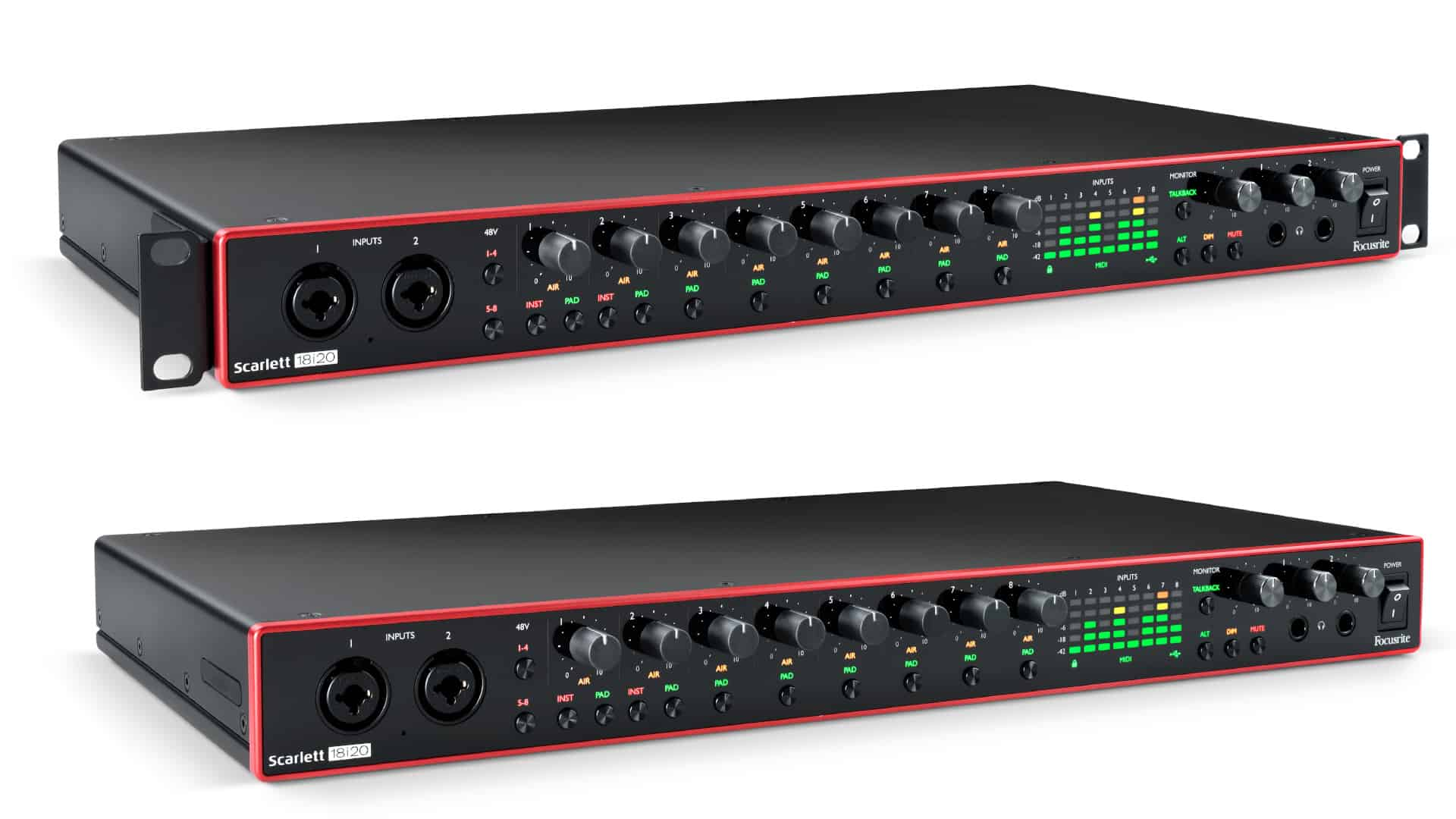 Focusrite Scarlett 18i20 3rdGen USB-C Audiointerface News 1