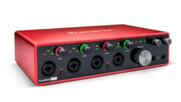 Focusrite Scarlett 18i8 USB-C Audiointerface