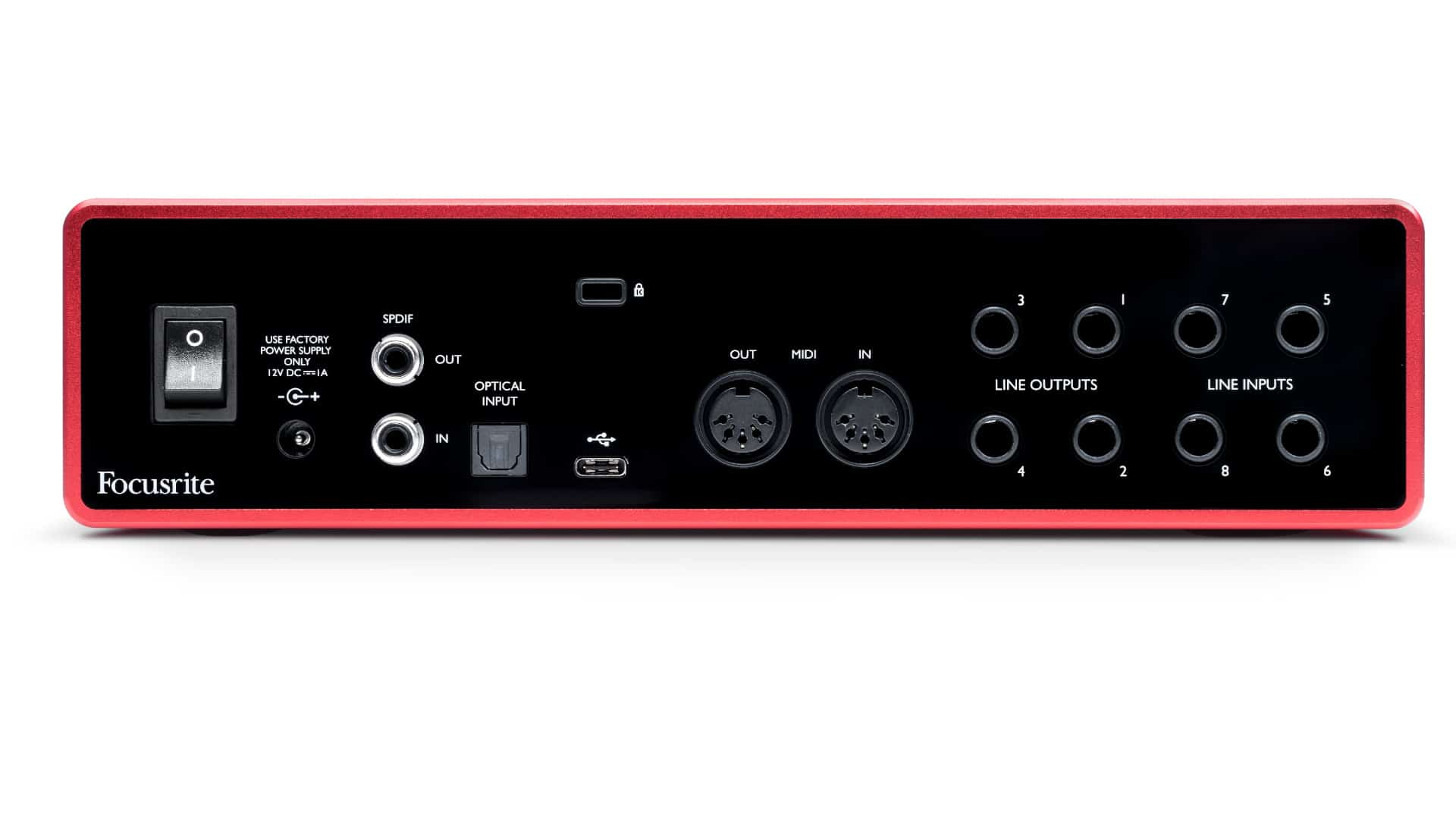 Focusrite Scarlett 18i8 USB-C Audiointerface 2