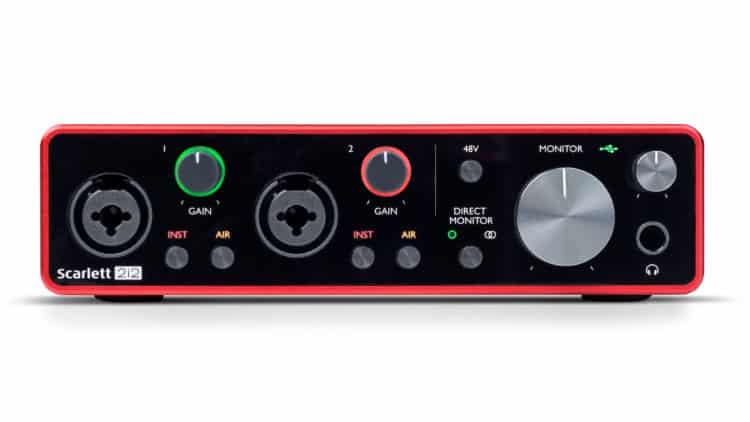 bestes audio interface focusrite