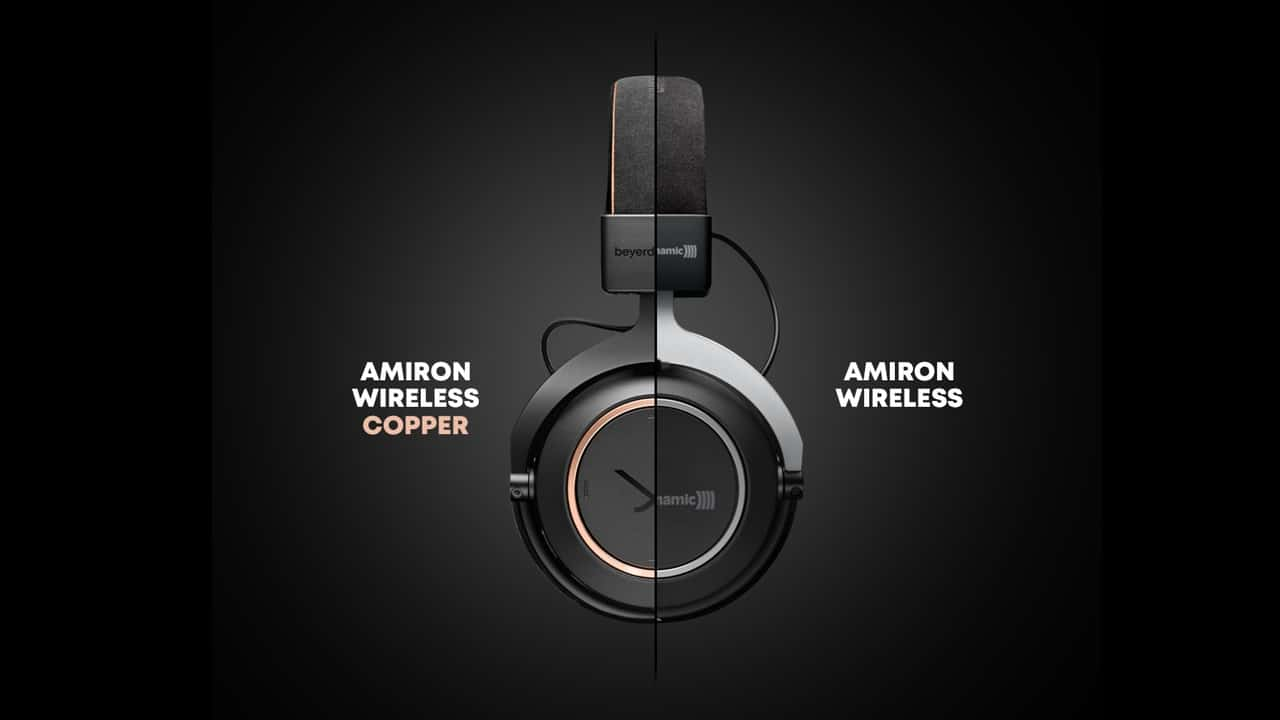 beyerdynamic Amiron Wireless Copper Vergleich Design