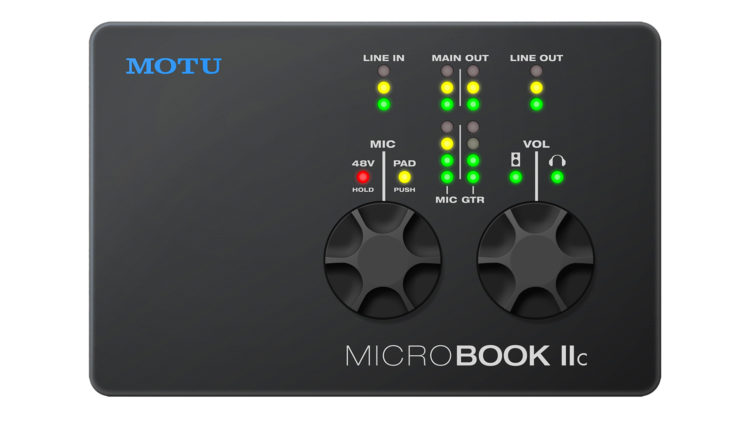 MOTU Microbook IIc