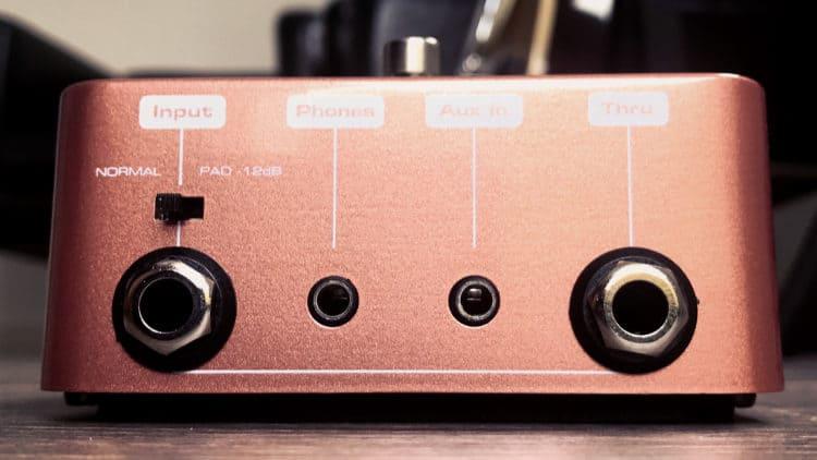 Palmer Pocket Amp Acoustic Test