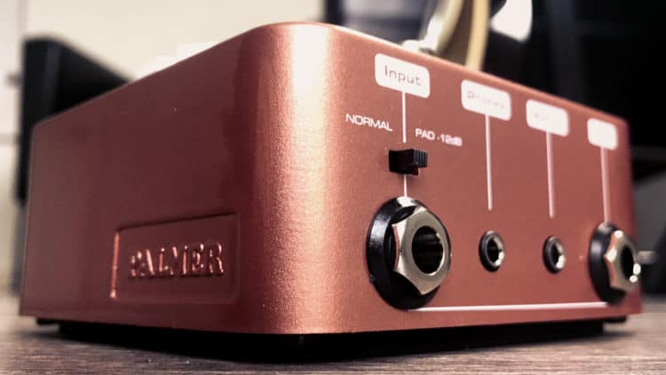 Palmer Pocket Amp Acoustic Test