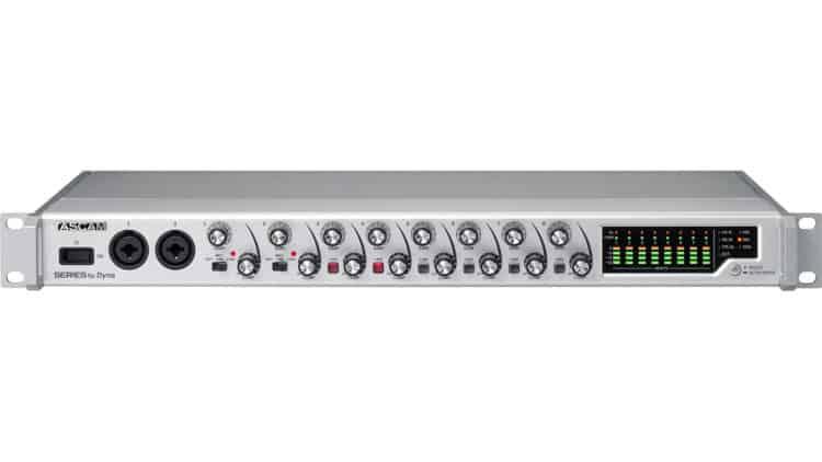 Tascam Series 8p Dyna 8-Kanal-Mikrofonvorverstärker