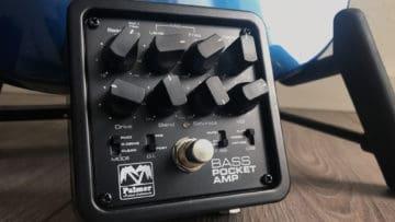Palmer Pocket Bass Amp Test