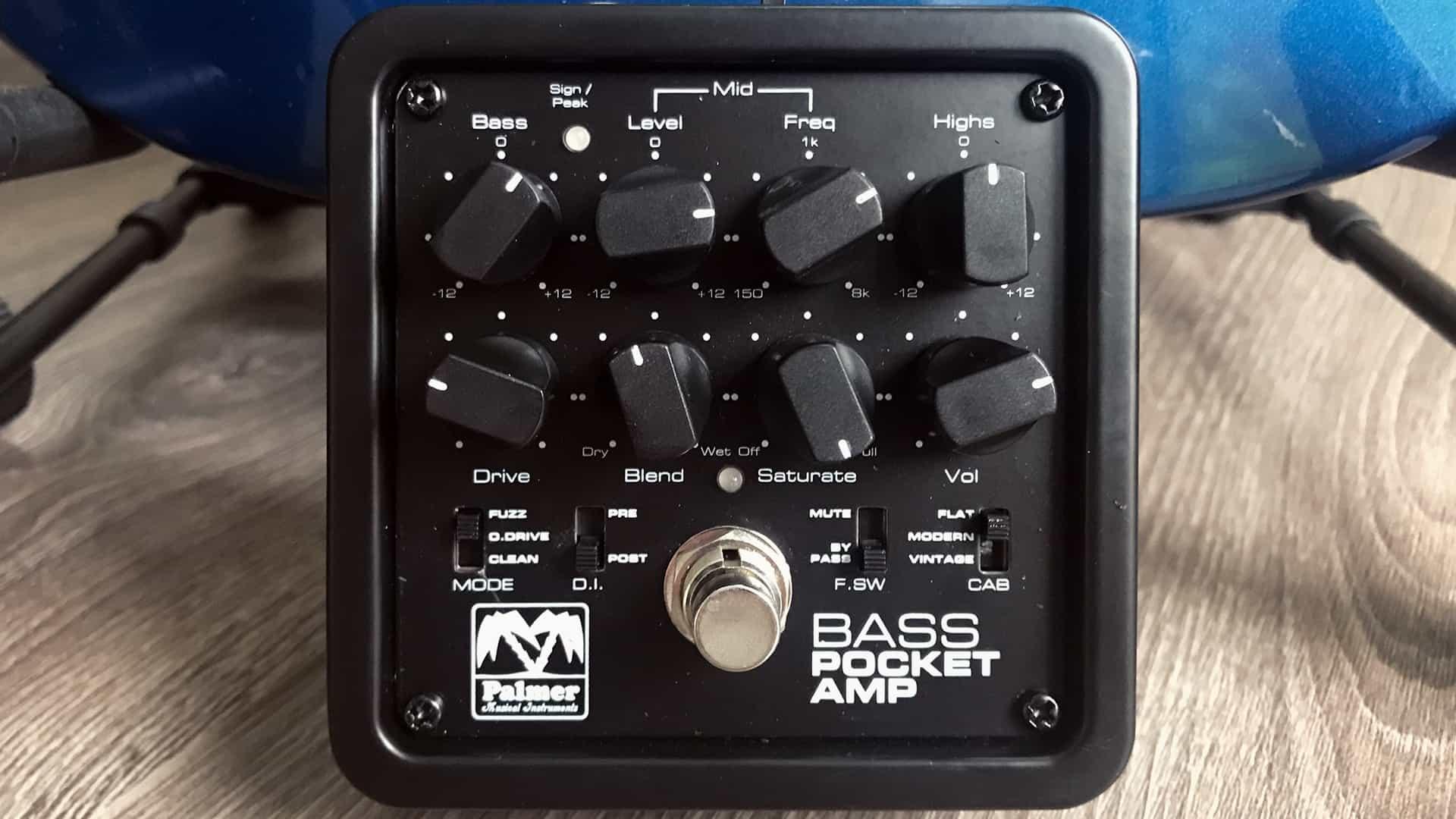 Palmer Pocket Bass Amp Test: Klein, flexibel, tongewaltig ⋆ delamar.de