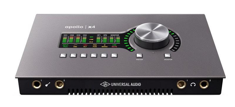 Universal Audio UA Apollo x4 Test: Für Windows & MacOS ⋆ delamar.de