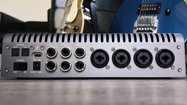 Universal Audio Apollo x4 Test