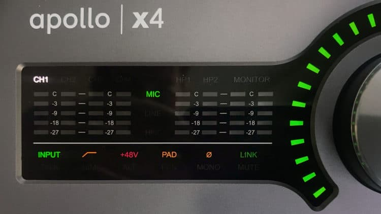 Universal Audio Apollo x4 Test