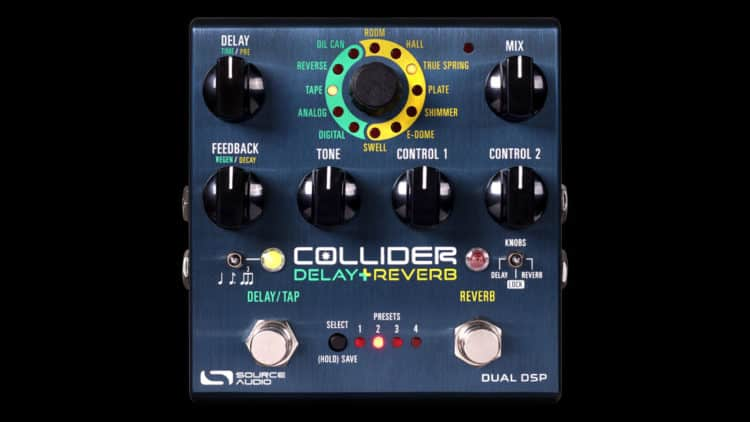 Source Audio Collider Delay+Reverb